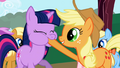Applejack Twilight Sparkle Forcefeeding S1E1.png