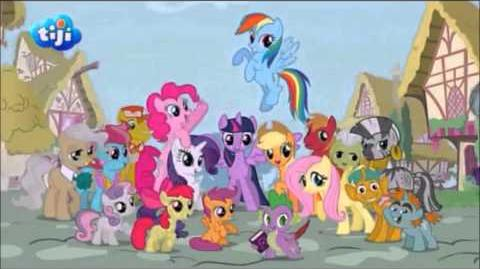 My Little Pony Season 4 Opening (French)