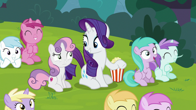 """File:Rarity """"it's funny because it's true!"""" S7E6.png"""