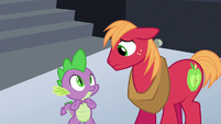 Spike and Big Mac looking uncertain S6E17