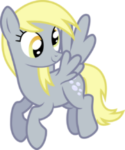 FANMADE Derpy vector by mrbarthalamul