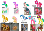 FANMADE PD125 g1 ponies g4ified