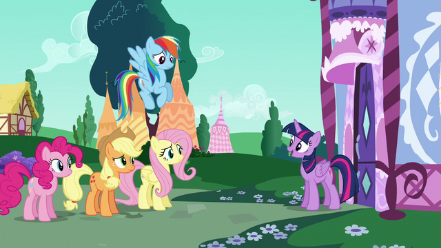 """File:Twilight """"Rarity's our friend"""" S6E9.png"""