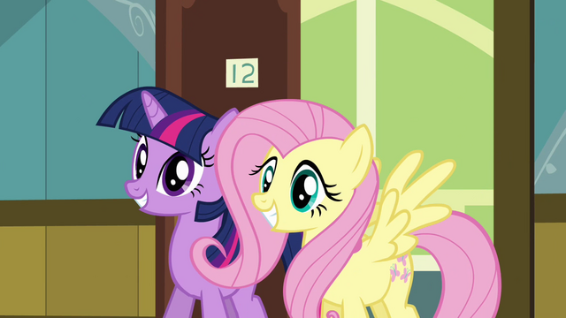 File:Twilight and Fluttershy come to visit S02E16.png