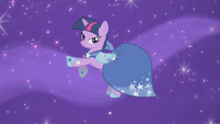 Twilight kicking her legs S1E14