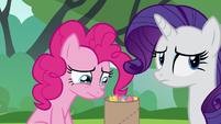 Pinkie Pie tearing up again S6E3