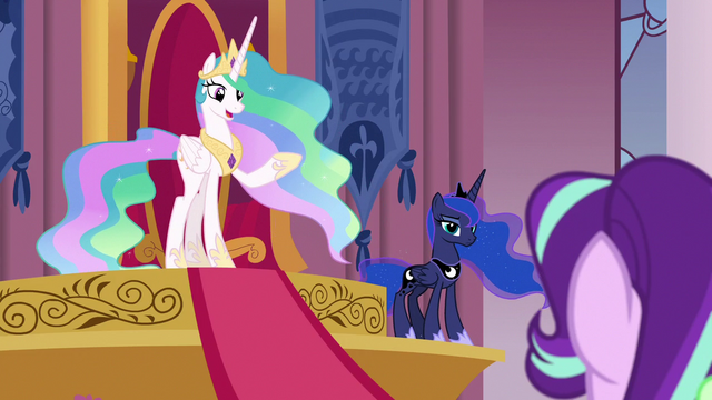 "File:Princess Celestia ""there's nothing wrong here"" S7E10.png"