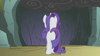 Rarity enters the cave S1E07