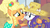 "Applejack ""there's the Rarity I know"" S4E13"