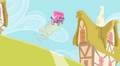 Baby carriage flying down a hill S2E8.png