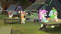 Cajun swamp ponies cheering S4E17.png