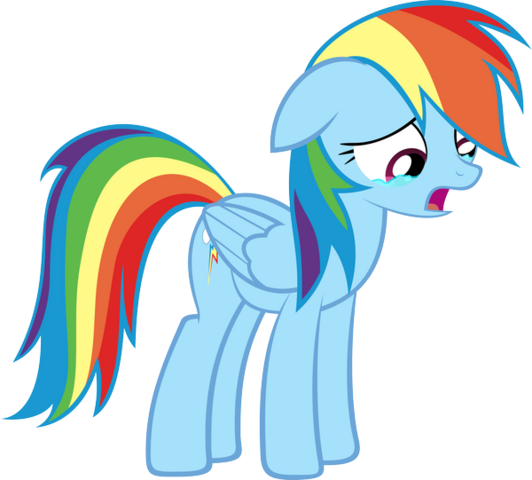 File:FANMADE Rainbow Dash crying.png