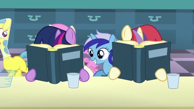 File:Fillies Twilight and Moon Dancer continue reading the books S5E12.png