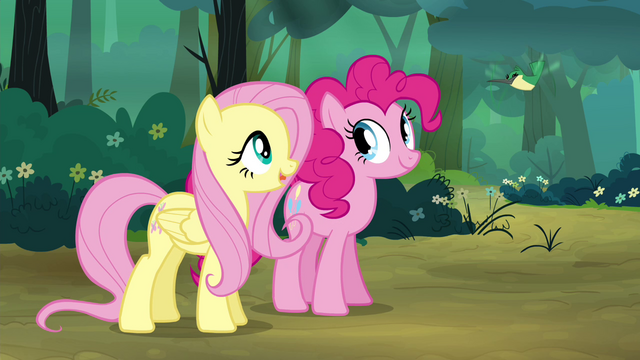 "File:Fluttershy ""He says hello"" S4E18.png"