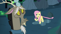 "Fluttershy Changeling ""we're probably all changelings"" S6E26"