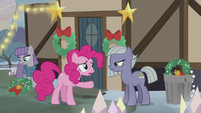 "Pinkie Pie ""you didn't have to ask them to leave!"" S5E20"