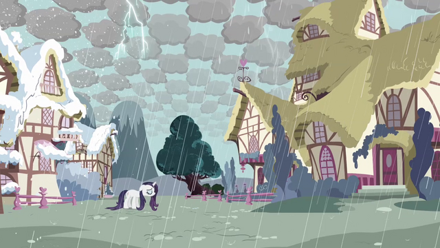 File:Rarity in stormy Ponyville S03E13.png