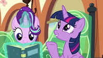 "Twilight Sparkle ""Flurry Heart's grown so much"" S6E16"