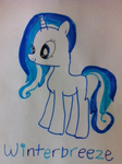 FANMADE Winterbreeze by X0 rainbow dash x