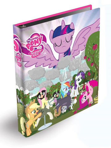 File:Magical Mystery Cure card binder.png