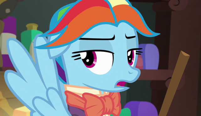 "File:Snowdash ""where did they get that crazy idea?"" S6E8.png"