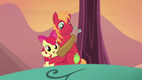 "Apple Bloom ""be there in a bit!"" S5E17"