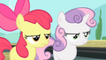 Apple Bloom and Sweetie Belle irritated S4E05.png