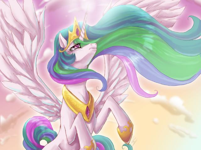 File:FANMADE Elegant Princess Celestia.png