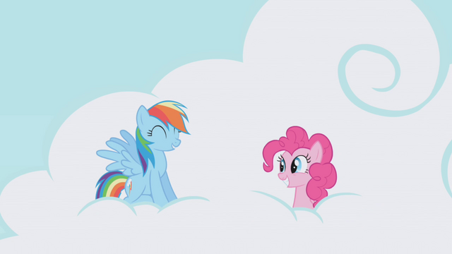 File:Rainbow Dash 'Pinkie, you're so random' S1E5.png