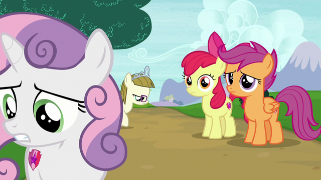 File:Sweetie Belle leaving her friends and Zipporwhill again S7E6.png