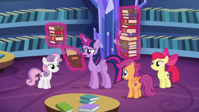 "File:Twilight Sparkle ""you just missed her"" S6E19.png"