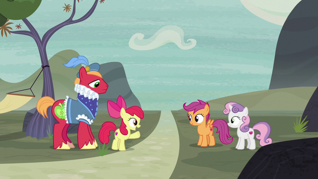 "File:Apple Bloom ""why didn't we think of it before?"" S7E8.png"