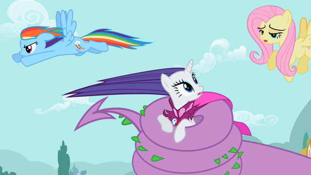 File:Rarity & Rainbow Dash help is here S2E10.png