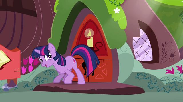 File:Twilight grinning towards her door S3E13.png