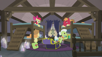 Apple Bloom excited for dinner S5E20