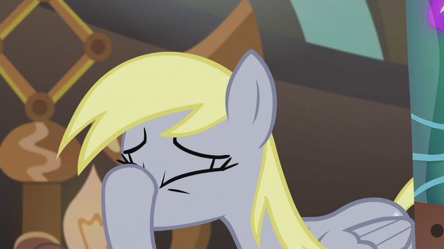 File:Derpy puts hoof on her face S5E9.png