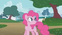 Pinkie Pie talking about Rainbow Dash S01E05