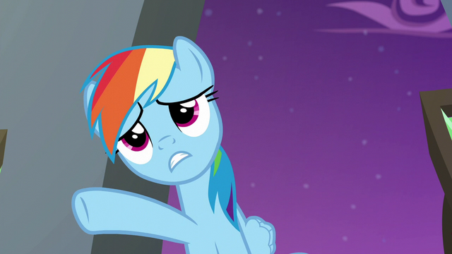 """File:Rainbow """"everything has to be"""" S6E7.png"""