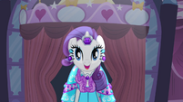Rarity 'And the theme is' S4E13
