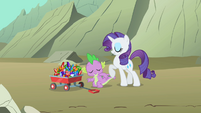 Rarity and Spike hunting for gems S1E19