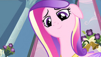 Cadance smiling S2E25