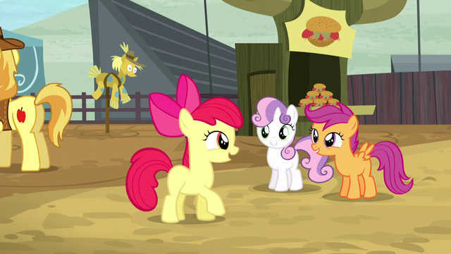 File:Crusaders excited about getting their cutie marks S5E6.png