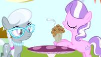 Diamond Tiara takes Silver Spoon's milkshake S4E12