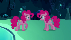 Pinkie Pie copying herself for first time S3E3.png