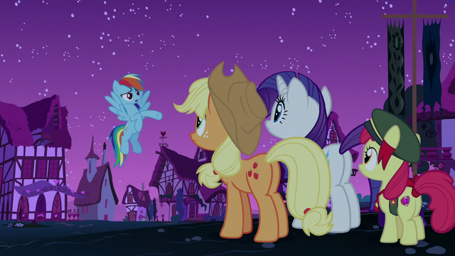 """File:Rainbow Dash """"have you guys noticed"""" S6E15.png"""
