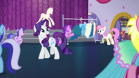 Rarity singing Rules of Rarity second reprise S5E14
