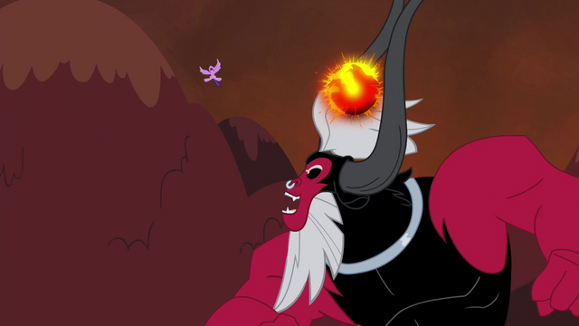 File:Tirek throws Twilight towards the mountain S4E26.png