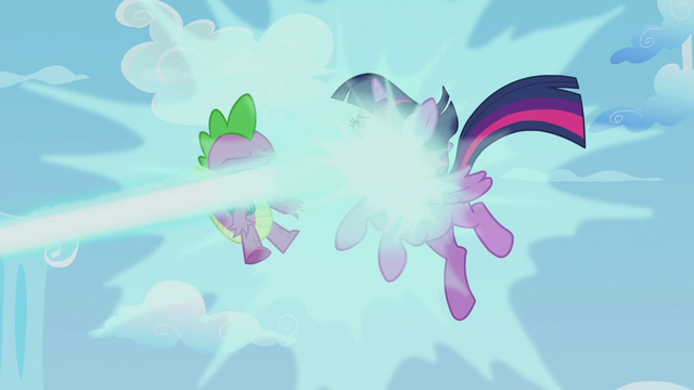 File:Twilight and Spike get blasted with magic S5E25.png