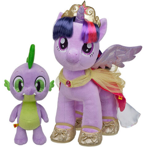 File:Build a Bear Workshop Princess Twilight Sparkle and Spike.jpg
