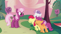 CMC acting suspiciously sweet S2E17